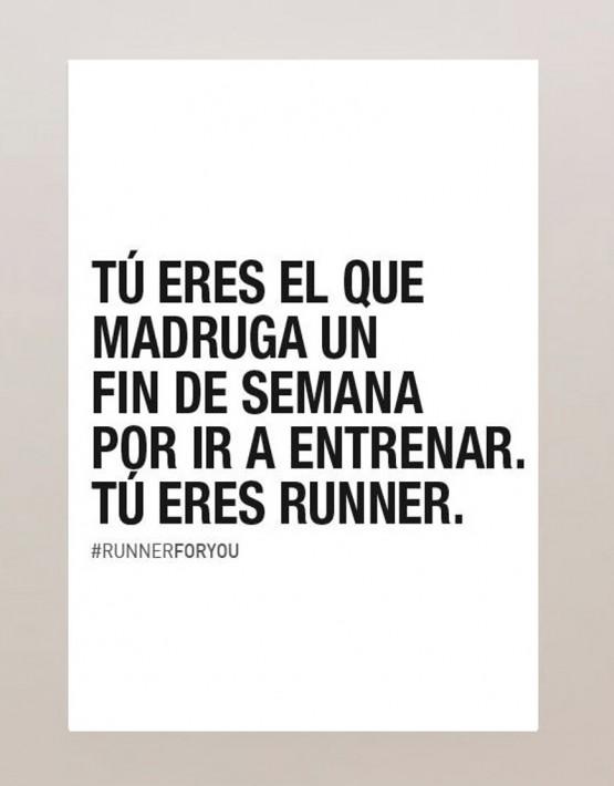 Lámina motivación running colección eres runner