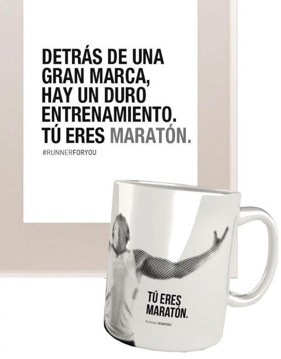 Kit regalo runner maratón marca
