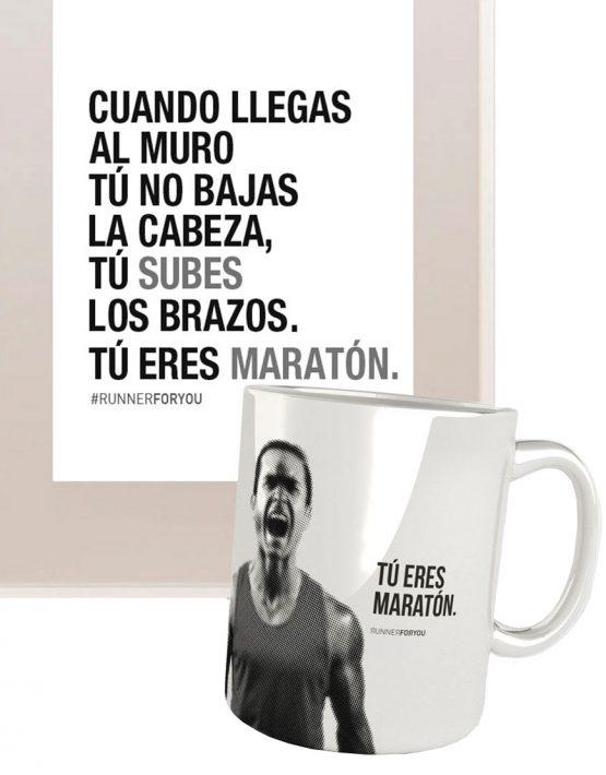 Kit regalo runner maratón muro