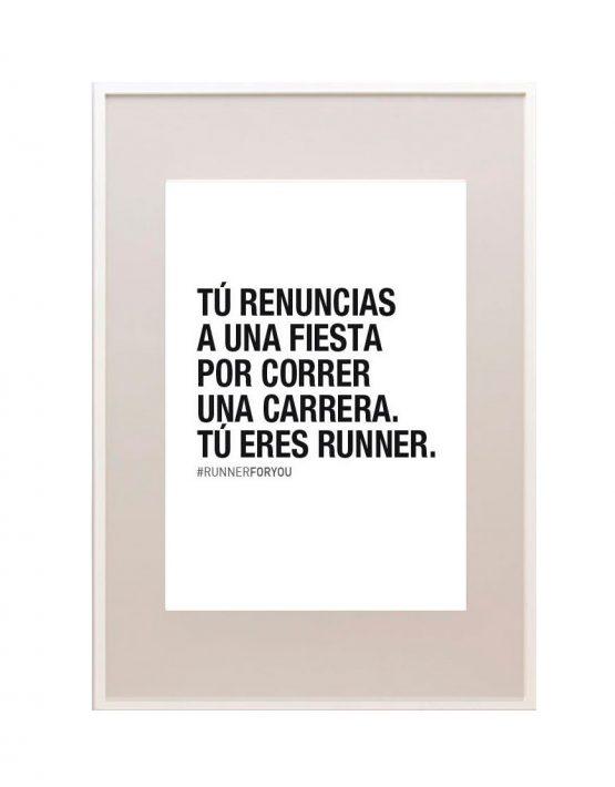 Lámina motivación correr corredores