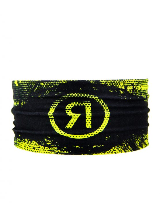 Headband running amarilla