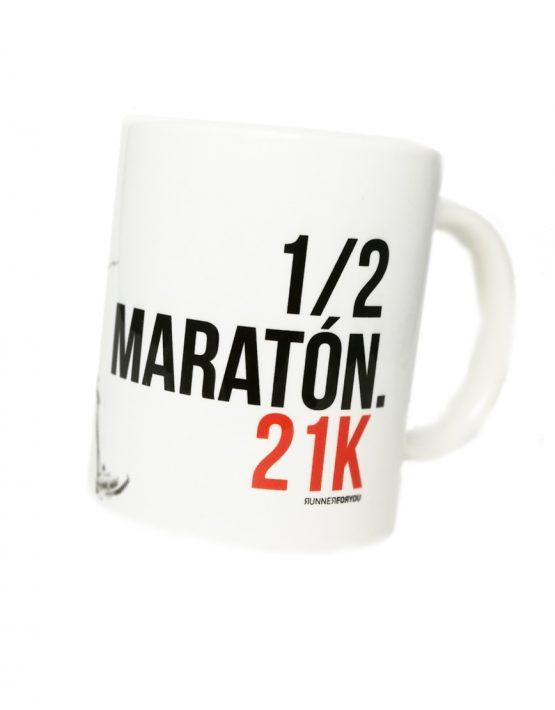 Taza running medio maraton woman